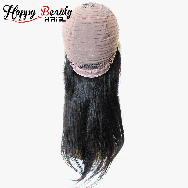 Qingdao Hair Factory 9A Straight Lace Front Wig