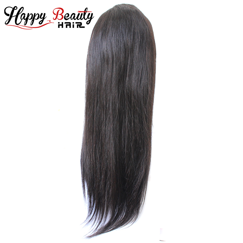 2018 New Arrival Top Quality Thick Ends 100% Straight Full Lace Wig