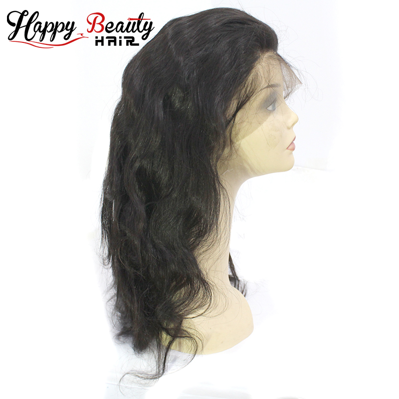 Wholesale 100 Virgin Human Hair Body Wave Full Lace Wig