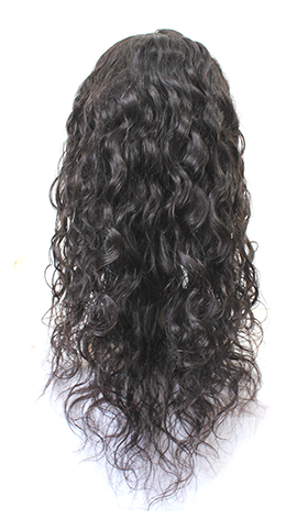 Hot Selling 100% Virgin Hair Water Wave Full Lace Wig
